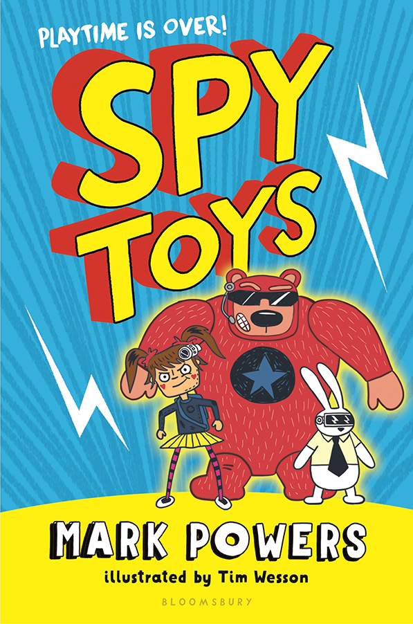 YAYBOOKS! January 2018 Roundup - Spy Toys: Playtime is Over