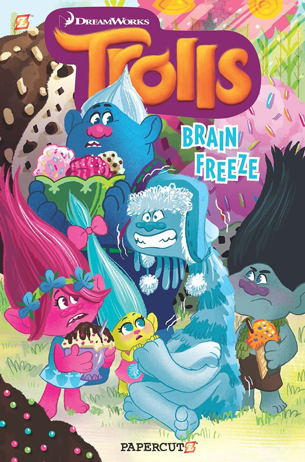 YAYBOOKS! January 2018 Roundup - Trolls: Brainfreeze