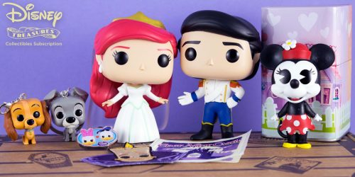 Celebrate Timeless Disney Romances with the Disney Treasures: Ever After Castle Box