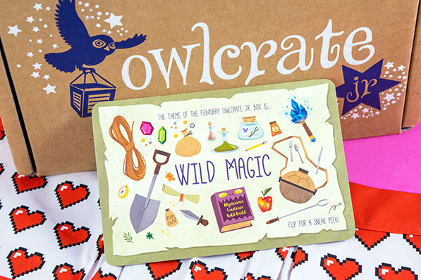 OwlCrate Jr. Sugar and Spice Unboxing - January 2018
