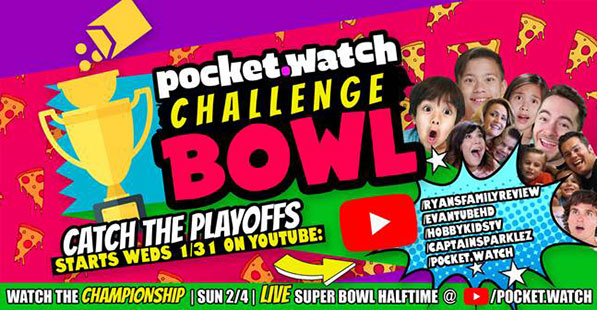 pocket.watch Challenge Bowl 2018