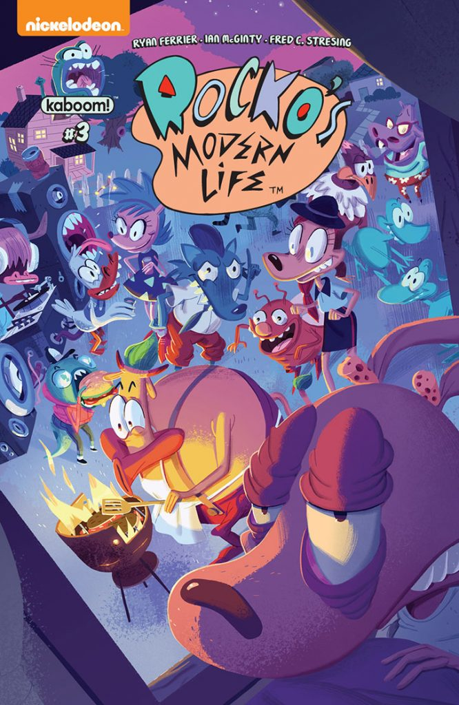 Rocko's Modern Life #3 Preview