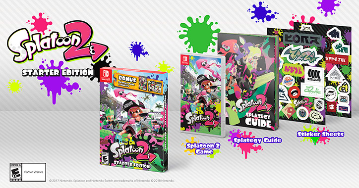 Splatoon 2 Starter Edition - Nintendo Switch
