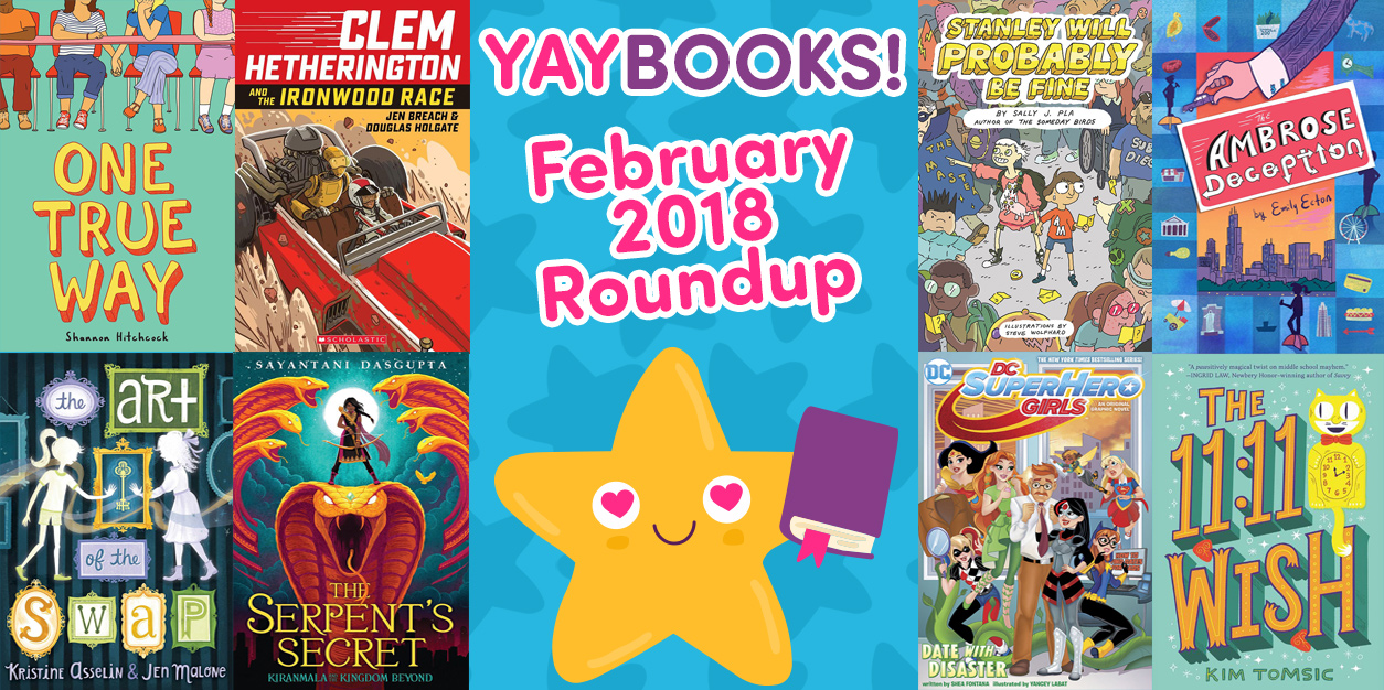 YAYBOOKS! February 2018 Roundup