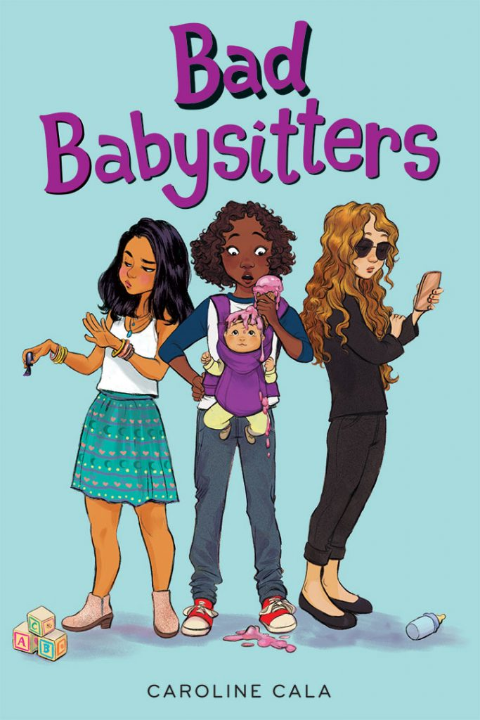 Bad Babysitters Cover Reveal - Caroline Cala