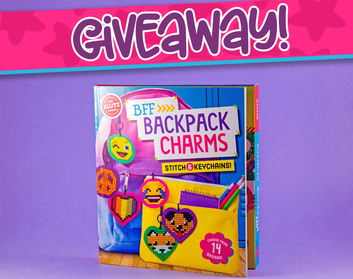 Klutz BFF Backpack Charms Giveaway