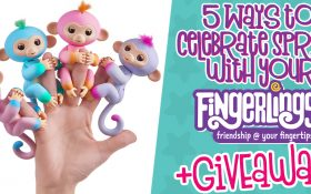 5 Ways to Celebrate Spring With Your Fingerlings - Giveaway