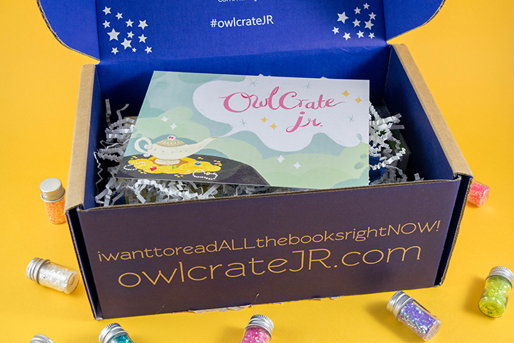 OwlCrate Jr. I Wish Unboxing - March 2018