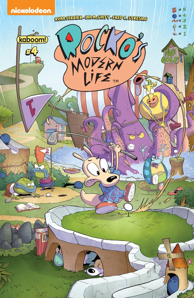 Rocko's Modern Life #4 - Preview