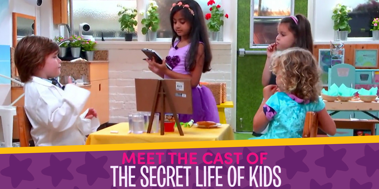 Meet the Cast of The Secret Life of Kidsa