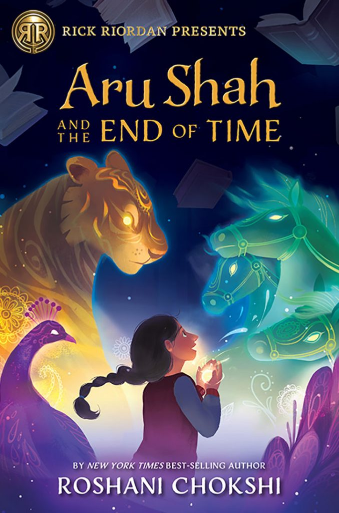 YAYBOOKS! March 2018 Roundup - Aru Shah and the End of Time