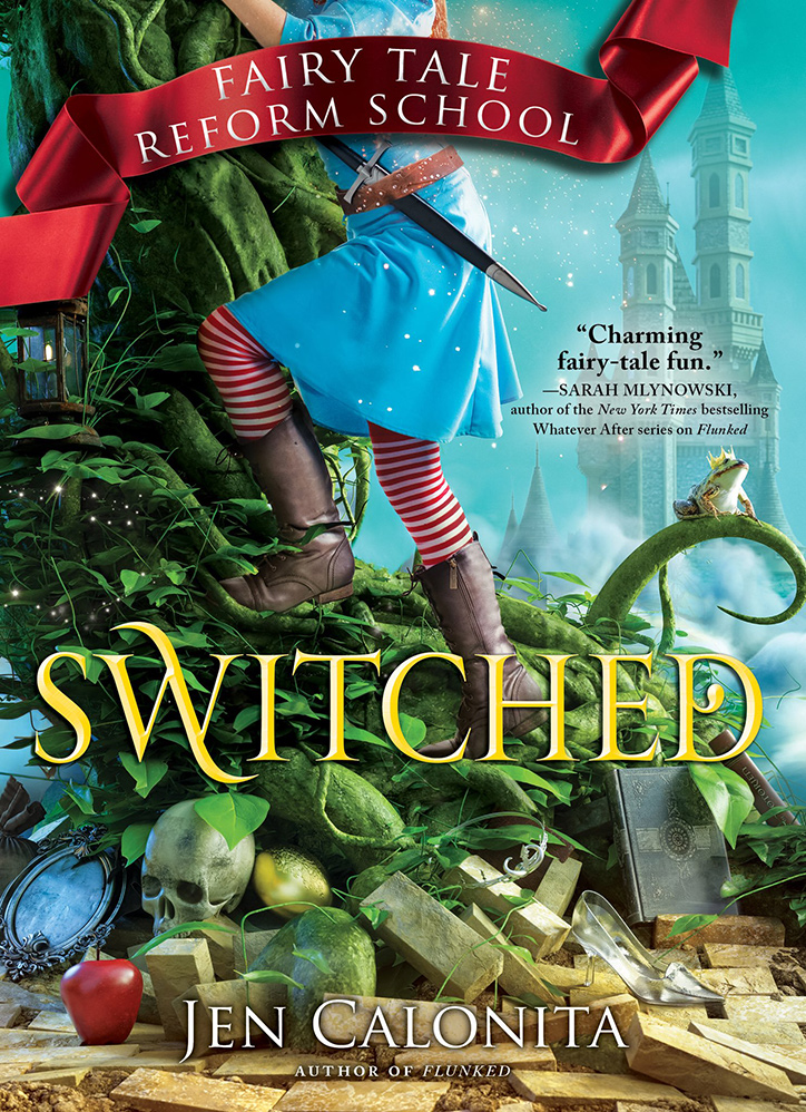YAYBOOKS! March 2018 Roundup - Fairy Tale Reform School: Switched