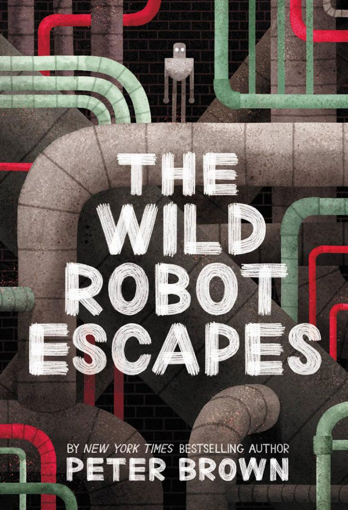 YAYBOOKS! March 2018 Roundup - The Wild Robot Escapes