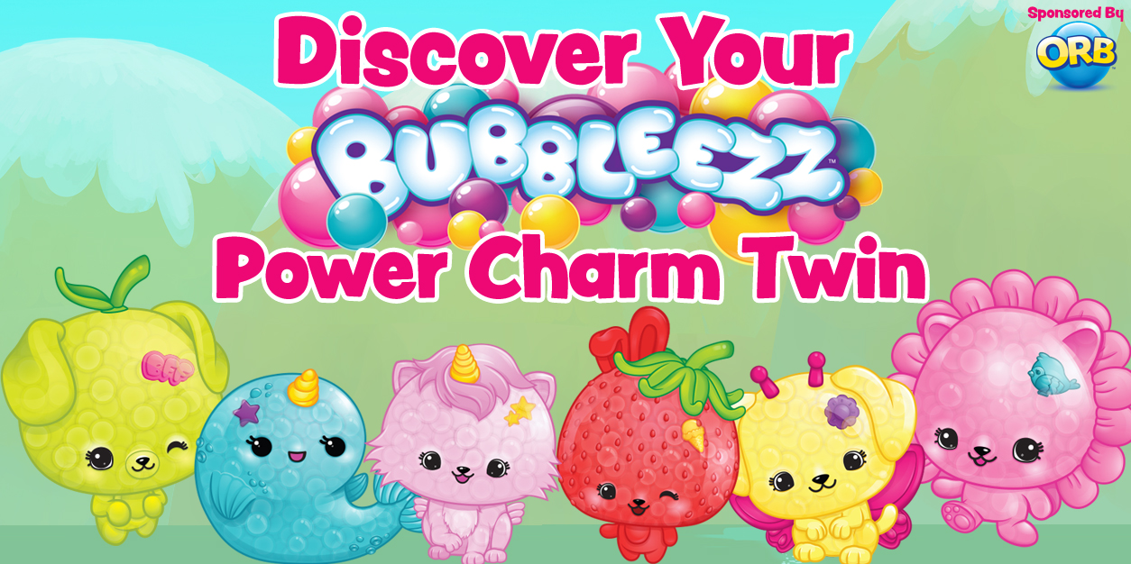 Discover Your Bubbleezz Power Charm Twin