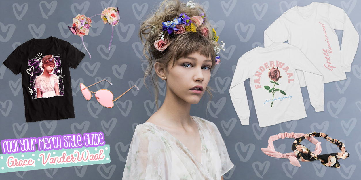 Rock Your Merch Style Guide - Grace VanderWaal