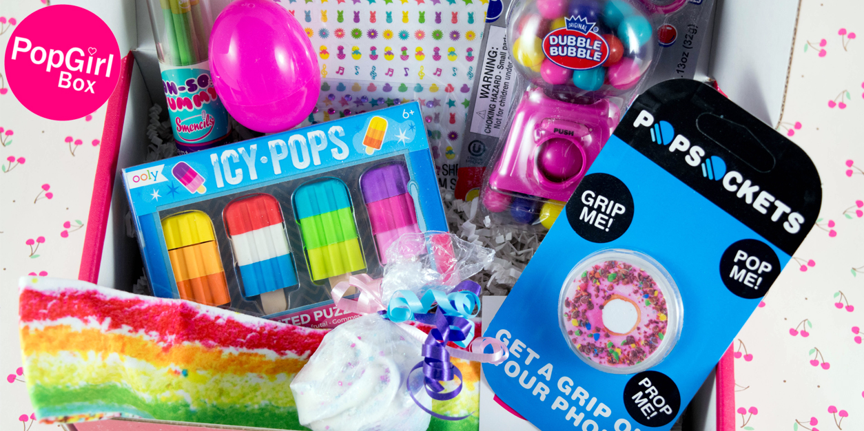 PopGirl Box - April Sweet Treat Unboxing