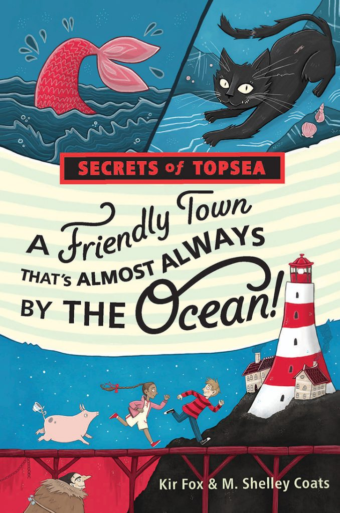 YAYBOOKS! April 2018 Roundup - A Friendly Town That's Almost Always by the Ocean