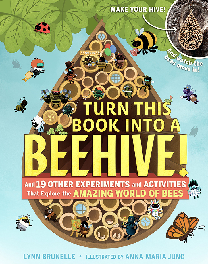 YAYBOOKS! April 2018 Roundup - Turn This Book Into a Beehive