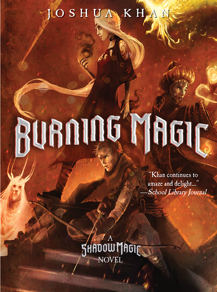 YAYBOOKS! April 2018 Roundup - Burning Magic