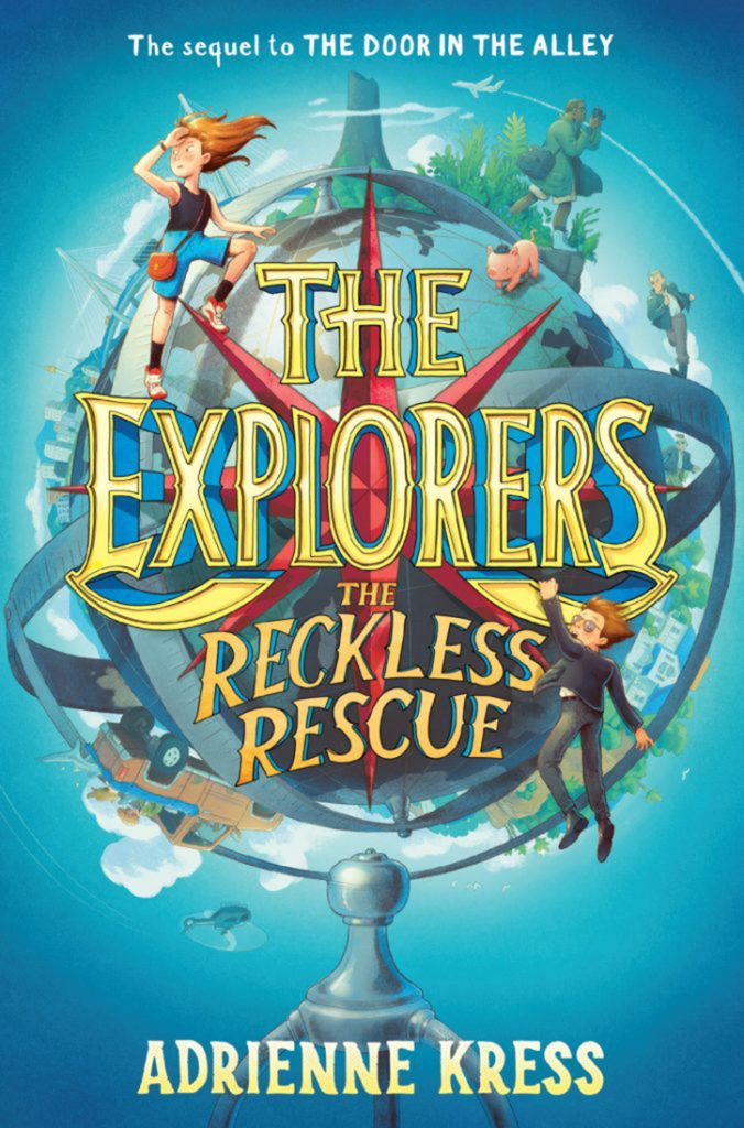 YAYBOOKS! April 2018 Roundup - The Explorers: Reckless Rescue