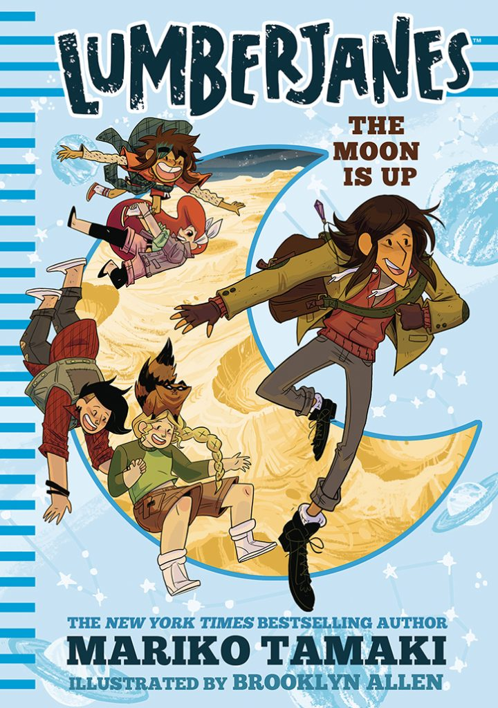 YAYBOOKS! May 2018 Roundup - Lumberjanes: The Moon is Up