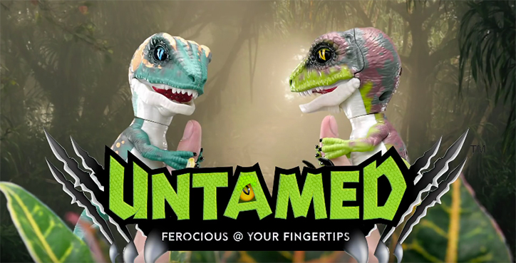 Fingerlings UNTAMED Raptors