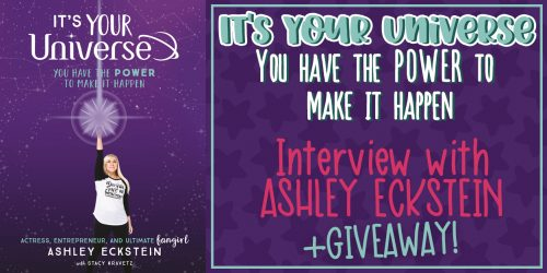 It's Your Universe – Interview with Ashley Eckstein + GIVEAWAY!