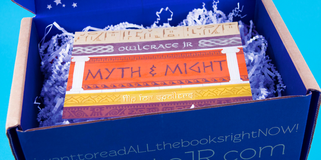 OwlCrate Jr.'s MYTH AND MIGHT Box Takes Readers on a Mythological Journey