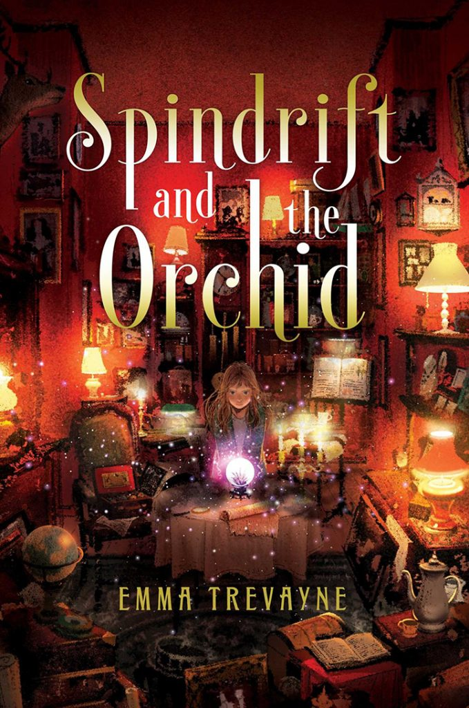 YAYBOOKS! May 2018 Roundup - The Supernormal Sleuthing Serivce: Spindrift and the Orchid