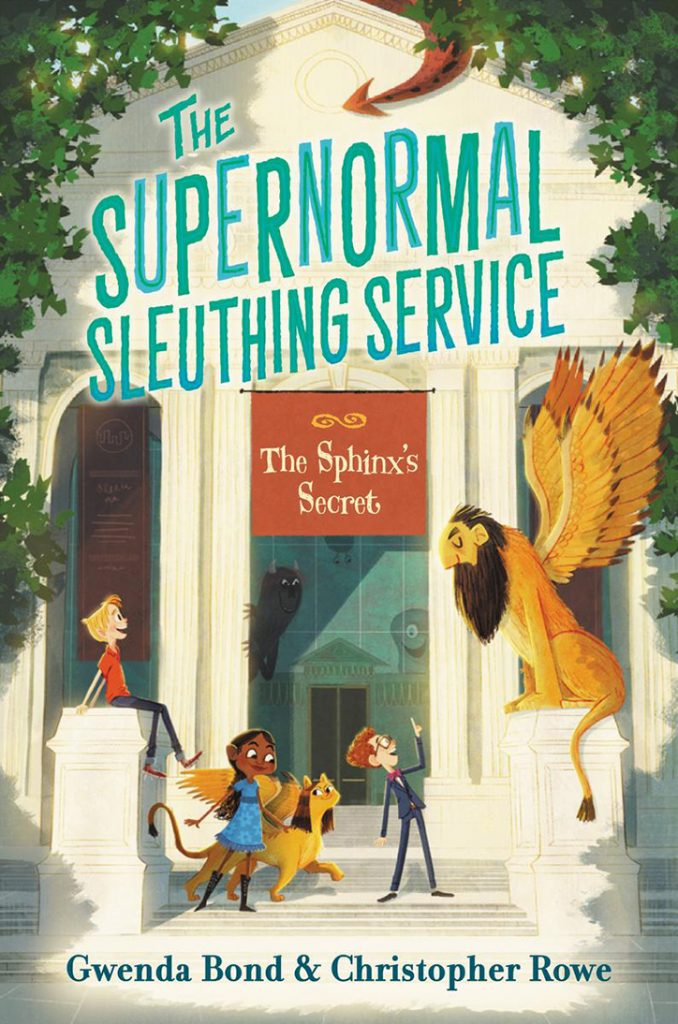 YAYBOOKS! May 2018 Roundup - The Supernormal Sleuthing Serivce: The Sphinx's Secret