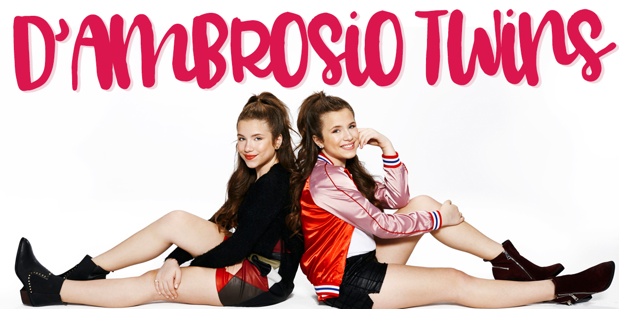 D'ambrosio Twins Interview - Bianca and Chiara D'ambrosio