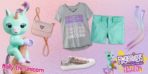 Fingerlings Fashion: Rock Molly's Rose Gold Style + GIVEAWAY!