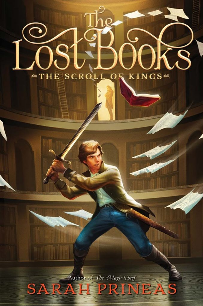 YAYBOOKS! June 2018 Roundup - The Lost Books: The Scroll of Kings