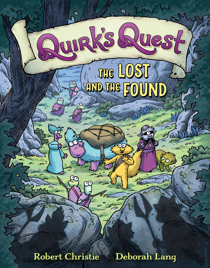 YAYBOOKS! June 2018 Roundup - Quirk's Quest: The Lost and the Found
