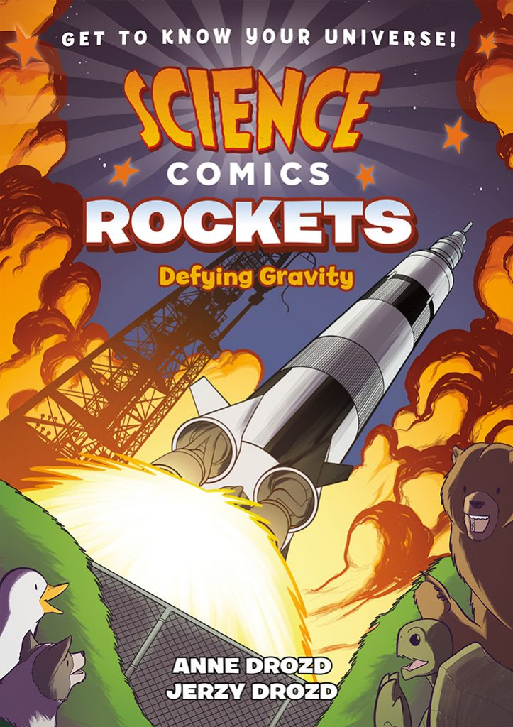YAYBOOKS! June 2018 Roundup - Science Comics: Rockets: Defying Gravity
