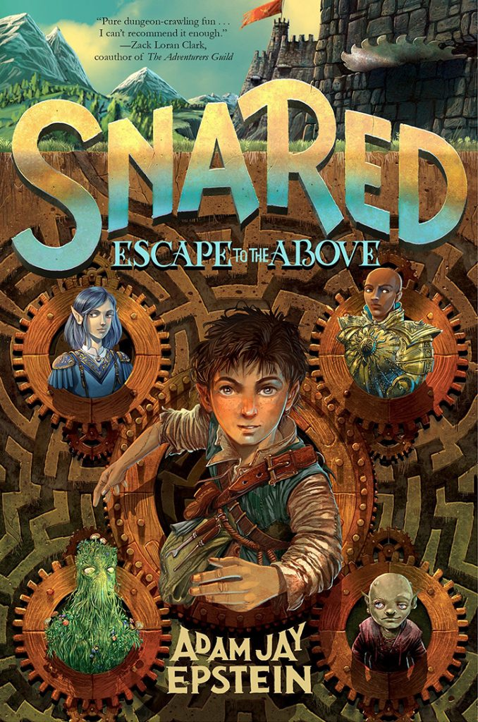 YAYBOOKS! June 2018 Roundup - Snared: Escape the Above