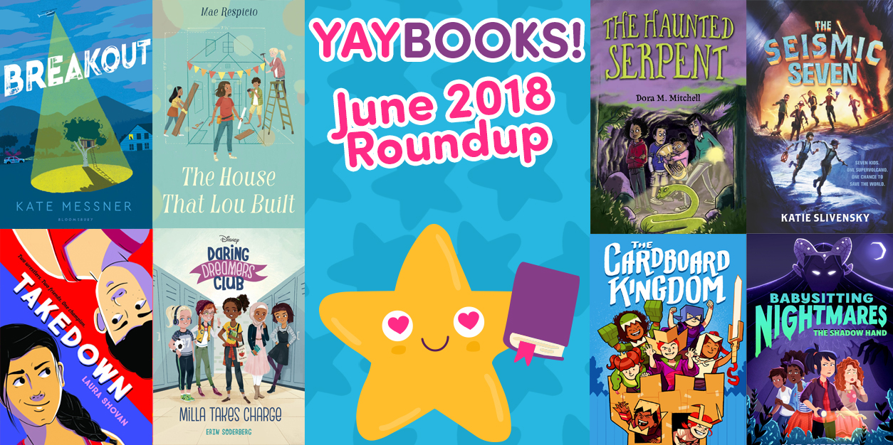 YAYBOOKS! June 2018 Roundup