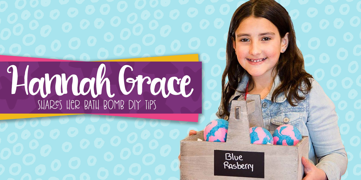 Hannah Grace Shares Her BeYOUtiful Bath Bomb DIY Tips