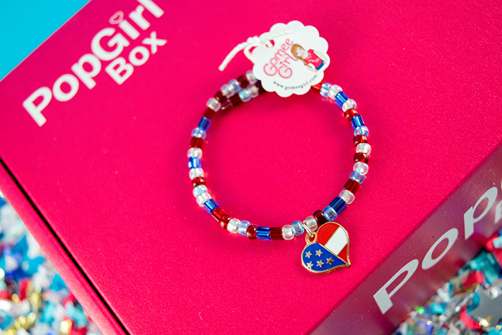 PopGirl Box - July 2018 I Heart America Unboxing