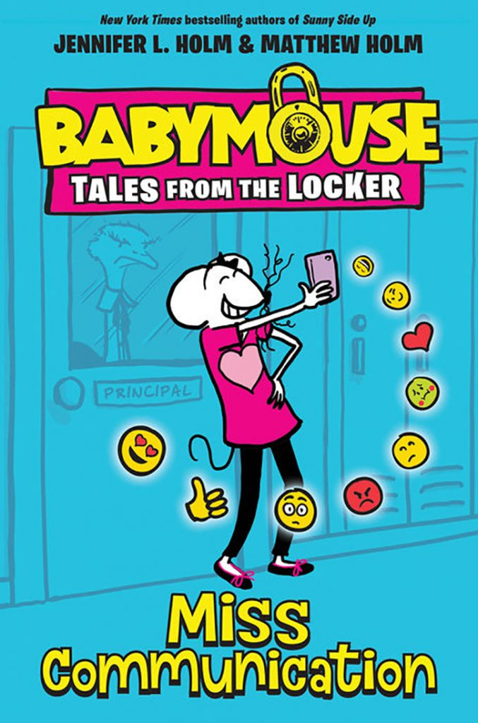 YAYBOOKS! July 2018 Roundup - Babymouse Tales from the Locker: Miss Communication