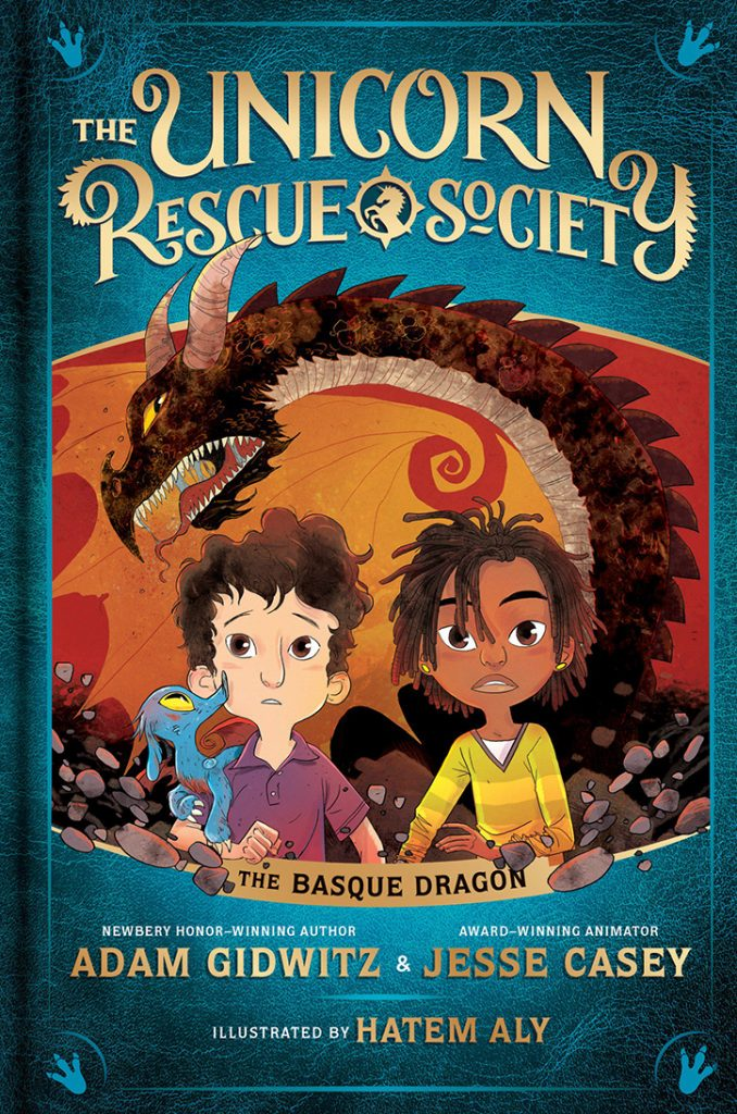 YAYBOOKS! July 2018 Roundup - The Unicorn Rescue Society: The Basque Dragon
