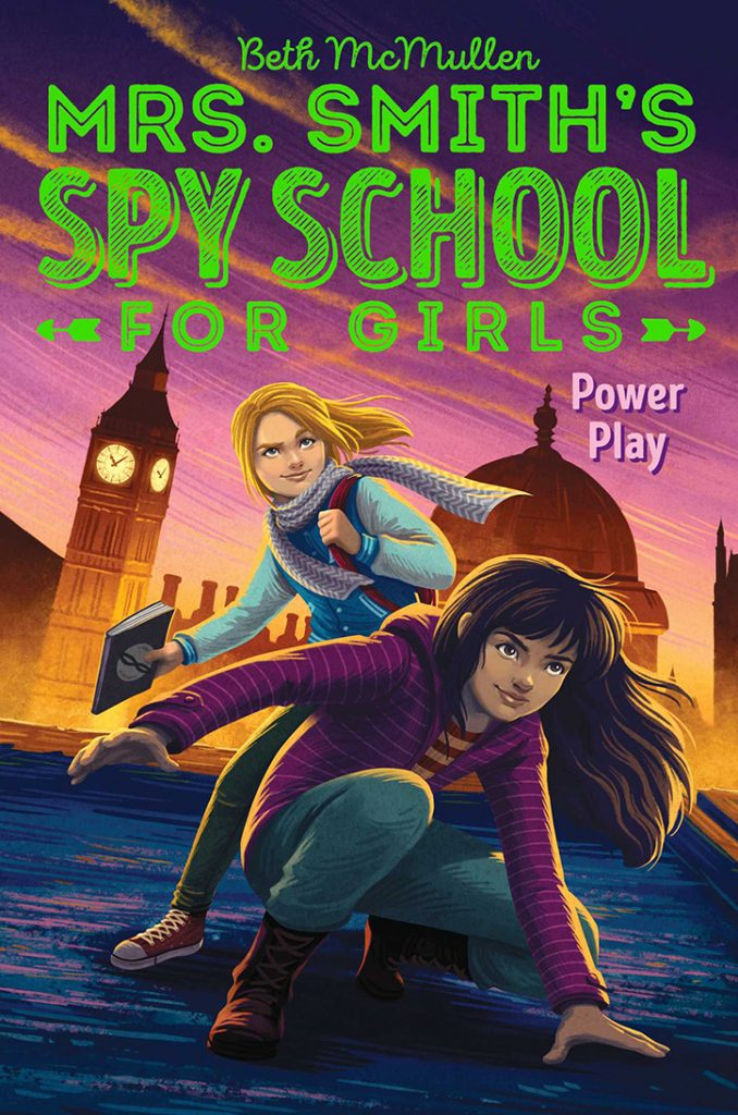 YAYBOOKS! July 2018 Roundup - Mrs. Smith's Spy School for Girls: Power Play