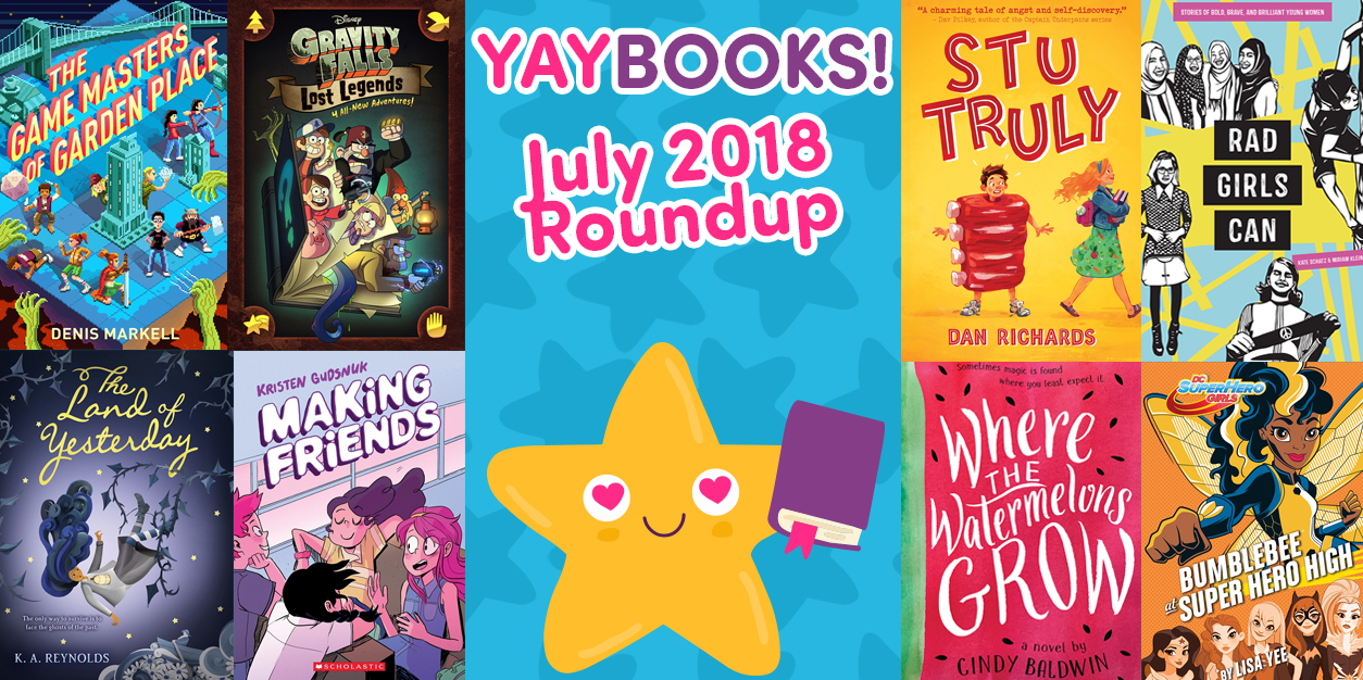 YAYBOOKS! July 2018 Roundup