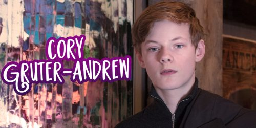 Cory Gruter-Andrew Talks Anne with an E, His Passion for Acting, and More!