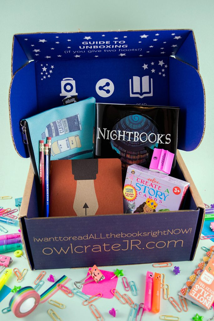 OwlCrate Jr. Storytellers Toolkit - August 2018