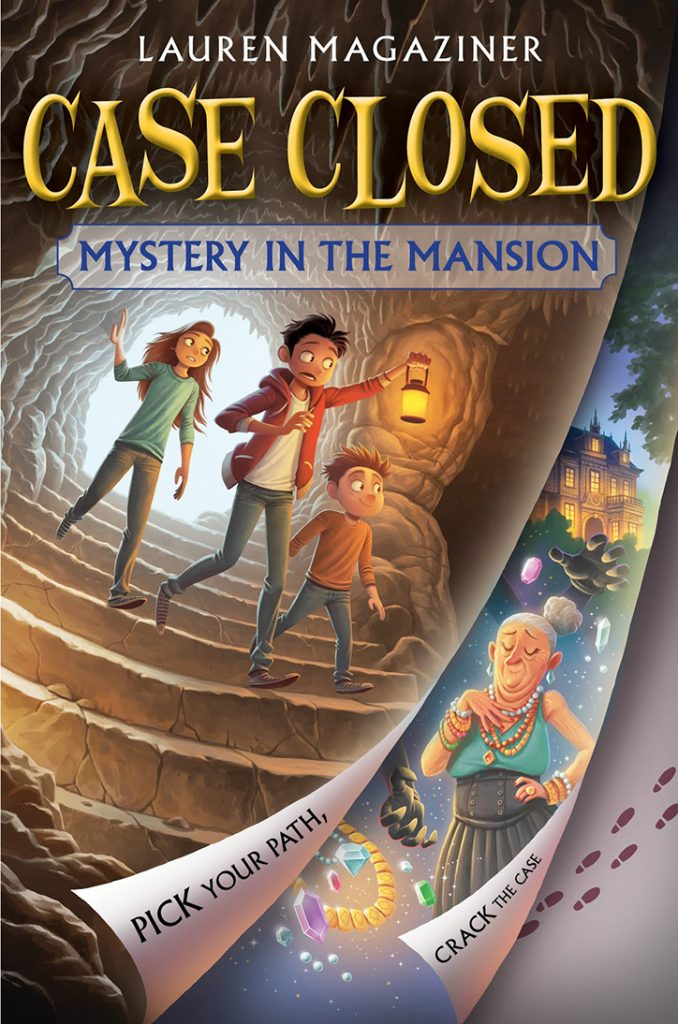 YAYBOOKS! August 2018 Roundup - Case Closed: Mystery in the Mansion