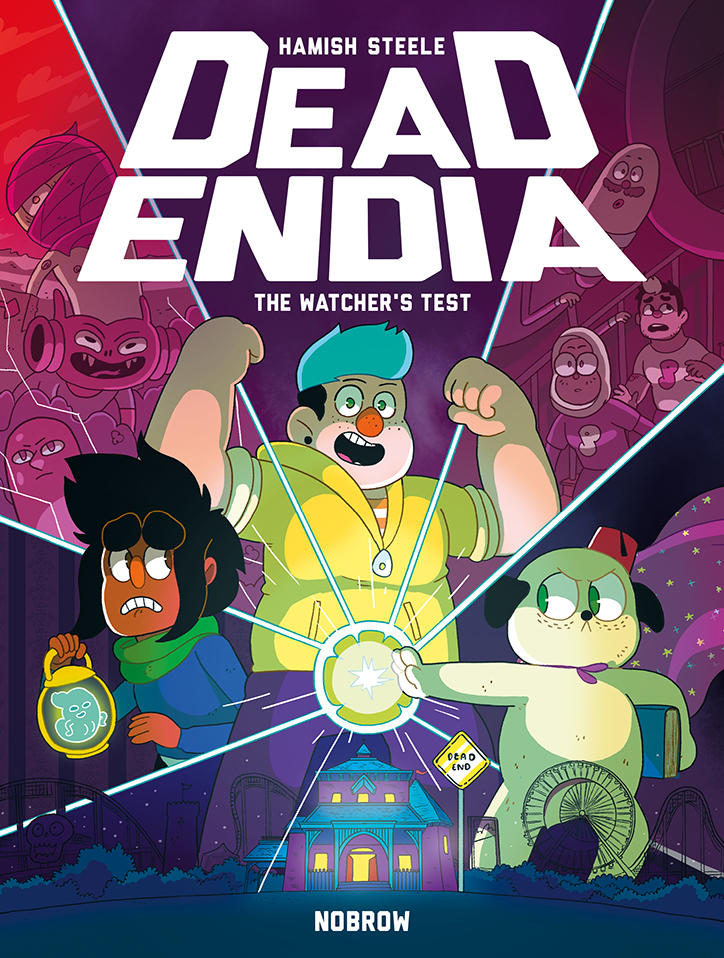 YAYBOOKS! August 2018 Roundup - DeadEndia: The Watcher's Test