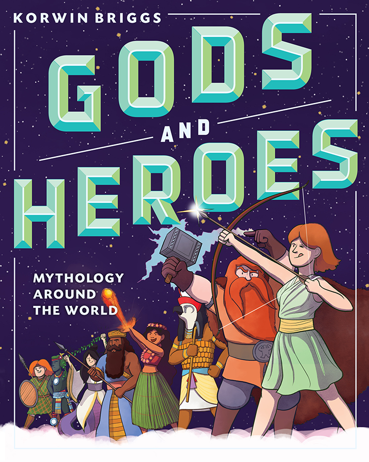 YAYBOOKS! August 2018 Roundup - Gods and Heroes: Mythology Around the World