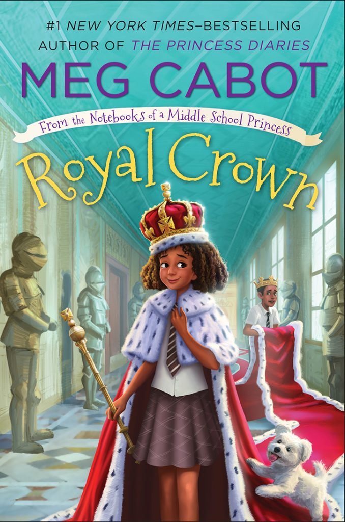 YAYBOOKS! August 2018 Roundup - From the Notebooks of a Middle School Princess - Royal Crown