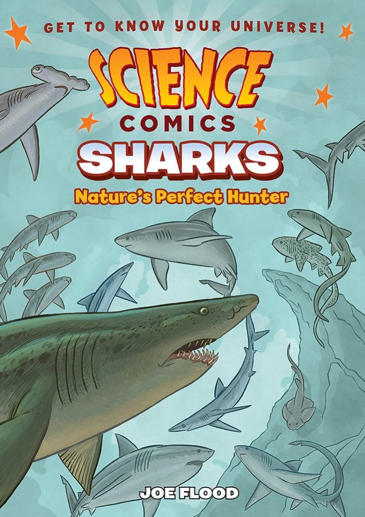 YAYBOOKS! August 2018 Roundup - Science Comics: Sharks